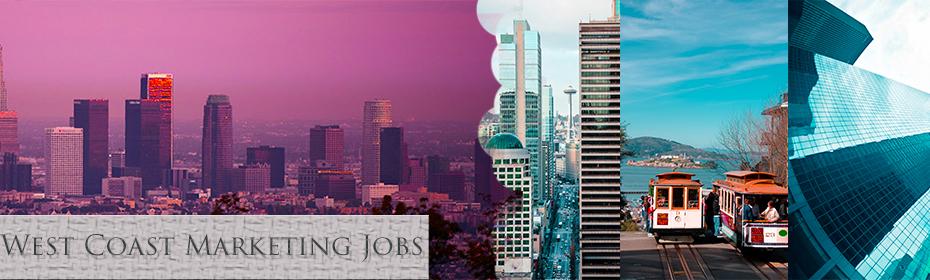 """West Coast Marketing Jobs"""
